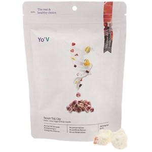 Sữa chua sấy vị trái cây Yo'V túi 30g