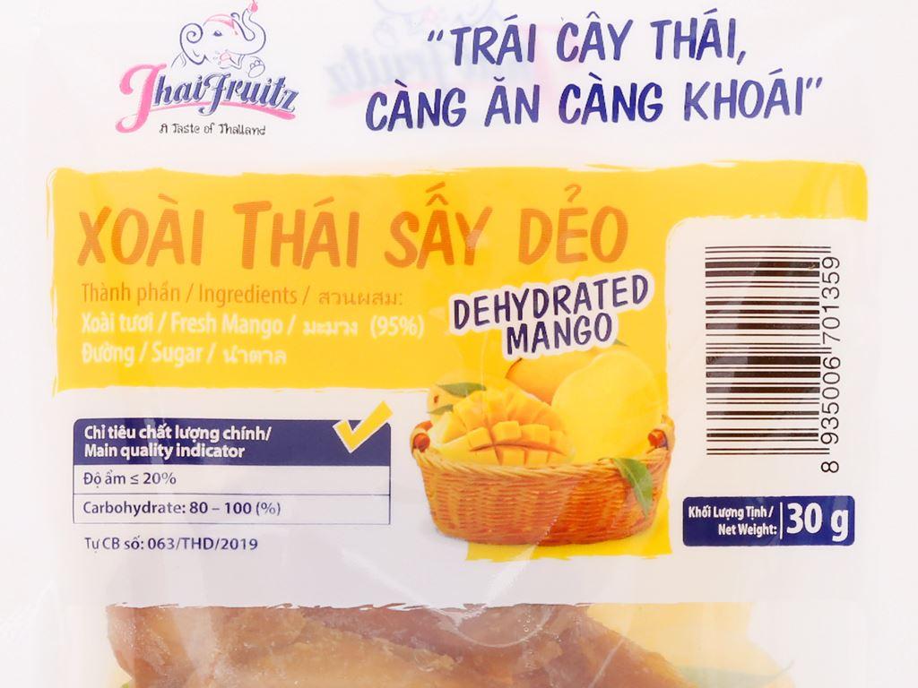 Xoài Thái sấy dẻo Thaifruitz gói 30g 3