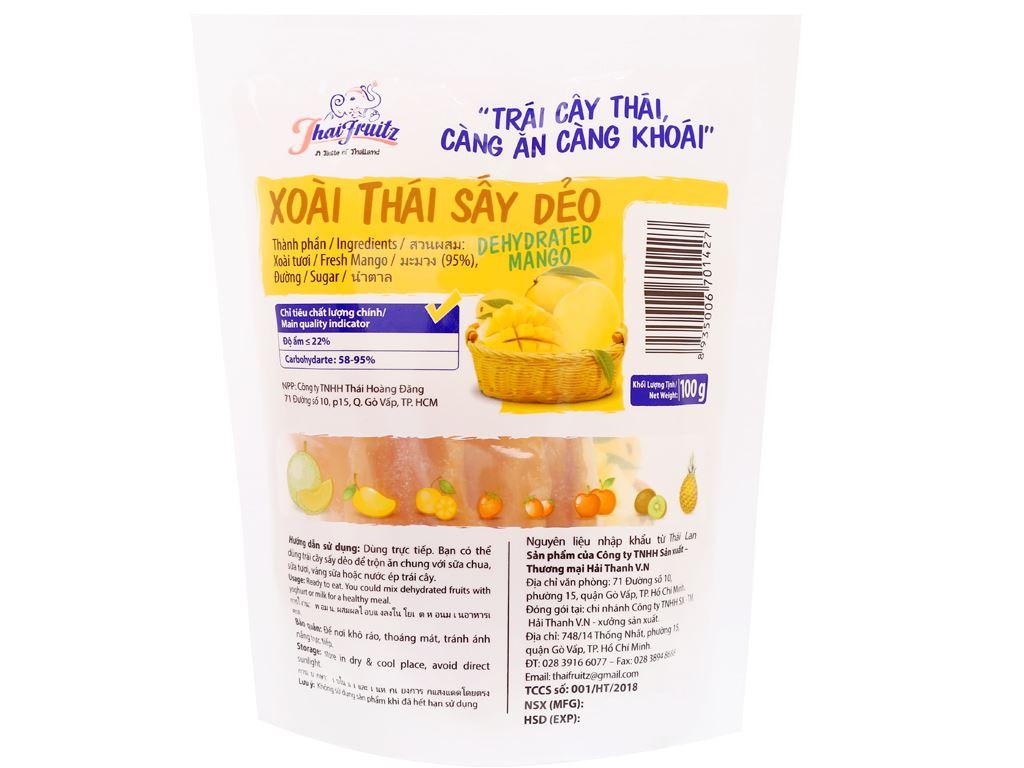 Xoài Thái sấy dẻo Thaifruitz gói 100g 2