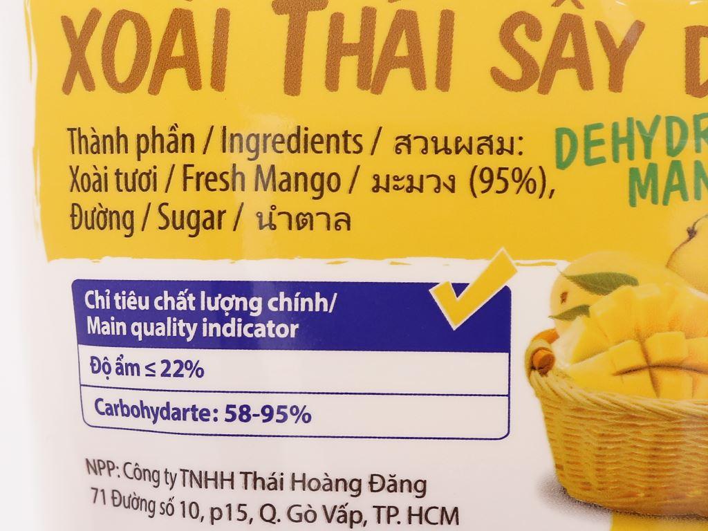 Xoài Thái sấy dẻo Thaifruitz gói 100g 3