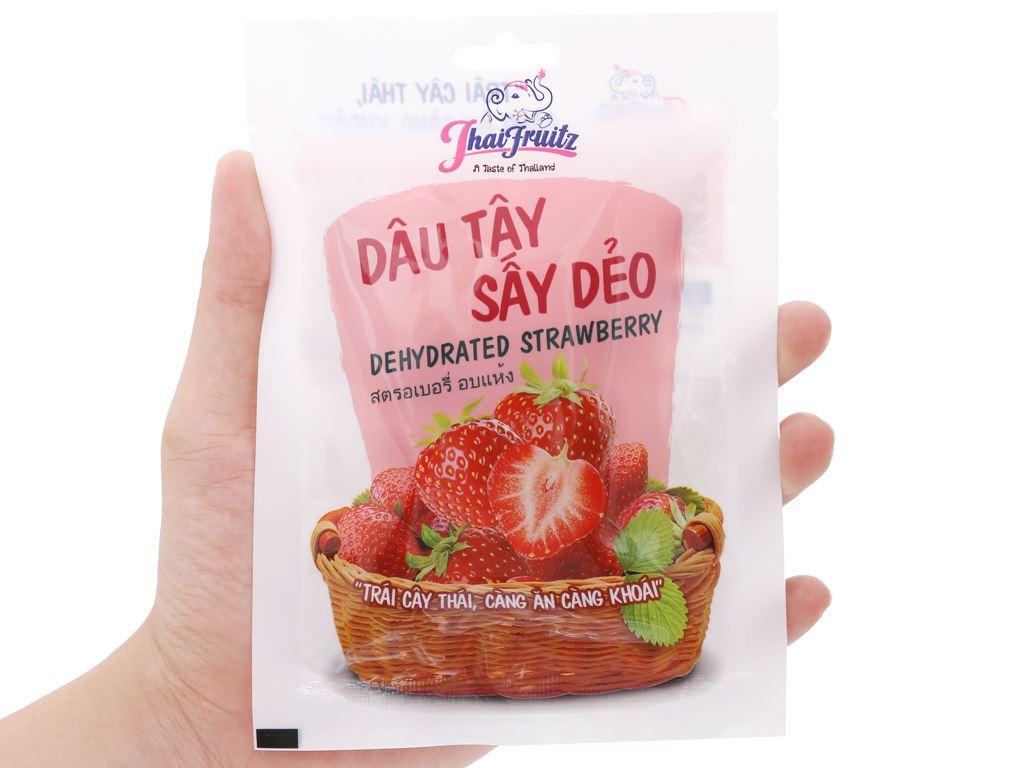 Dâu tây sấy dẻo Thaifruitz gói 30g 4