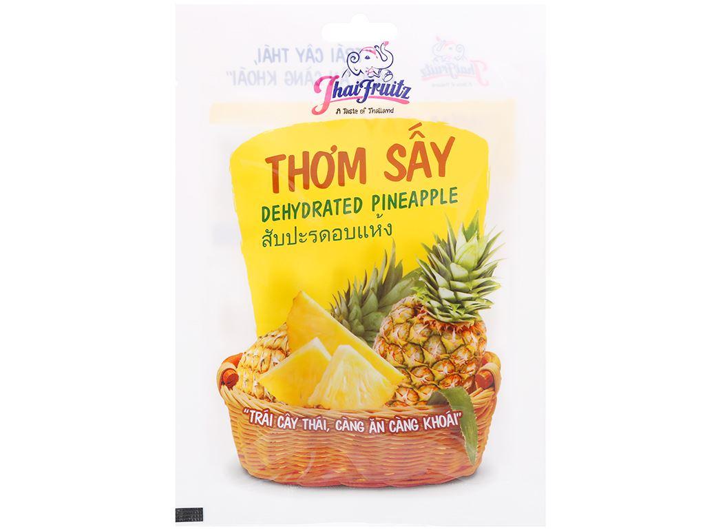 Thơm sấy dẻo Thaifruitz gói 30g 1