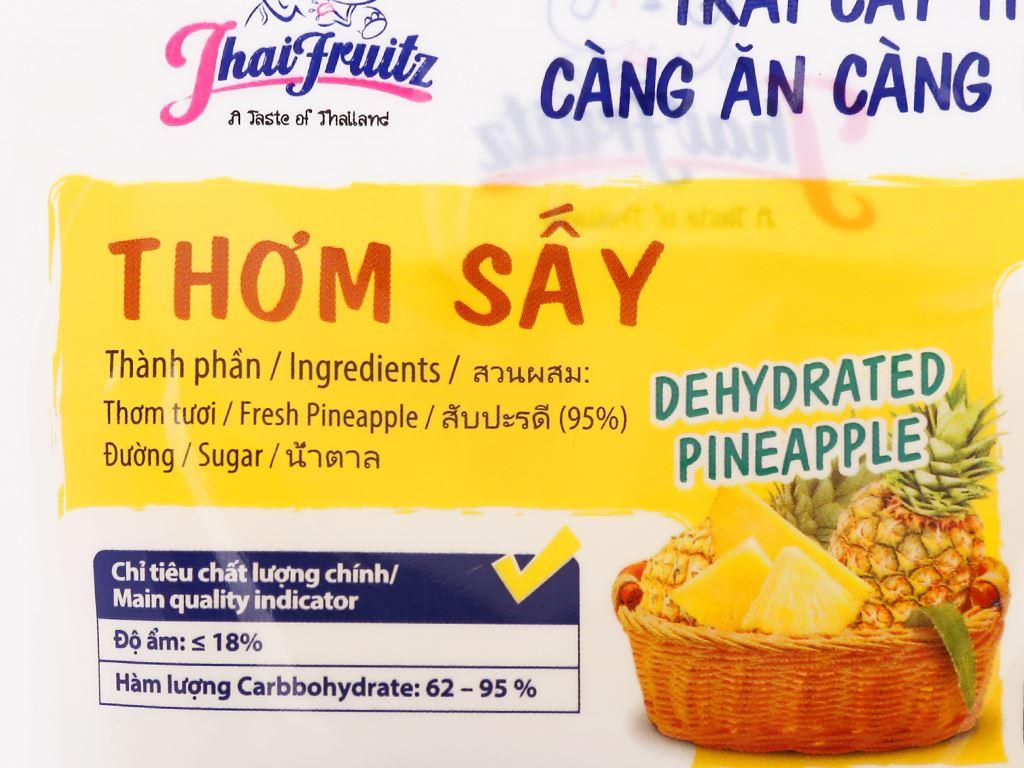 Thơm sấy dẻo Thaifruitz gói 30g 3