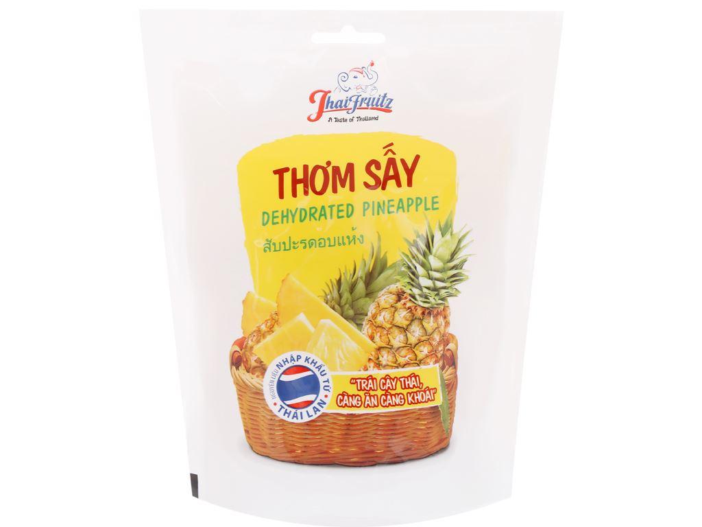Thơm sấy dẻo Thaifruitz gói 100g 1