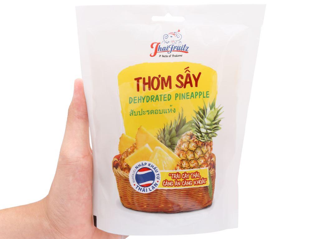Thơm sấy dẻo Thaifruitz gói 100g 4