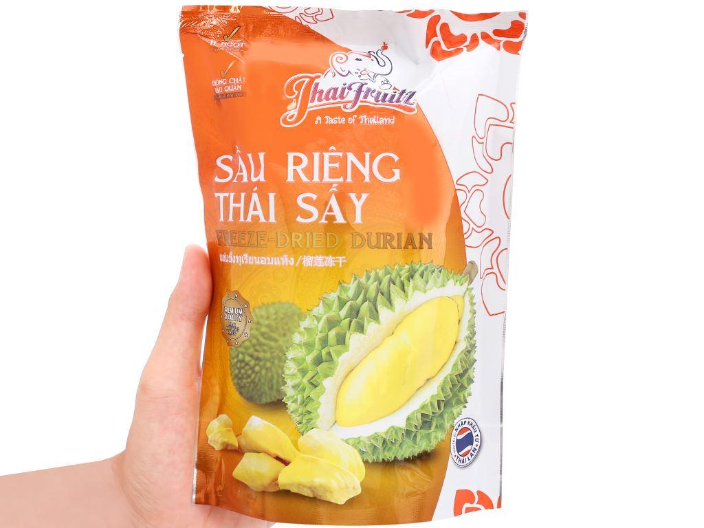 Sầu riêng Thái sấy giòn Thaifruitz gói 80g 5
