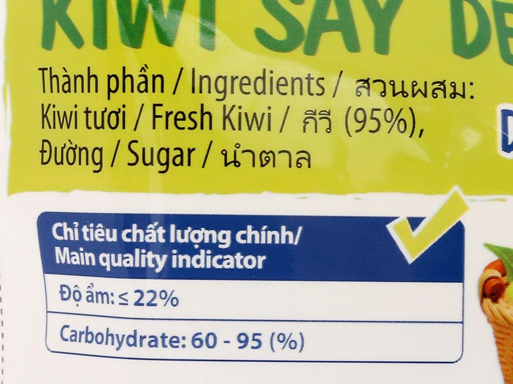 Kiwi sấy dẻo Thaifruitz gói 100g 3