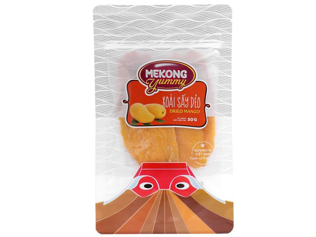 Xoài sấy dẻo Mekong Yummy gói 50g 1