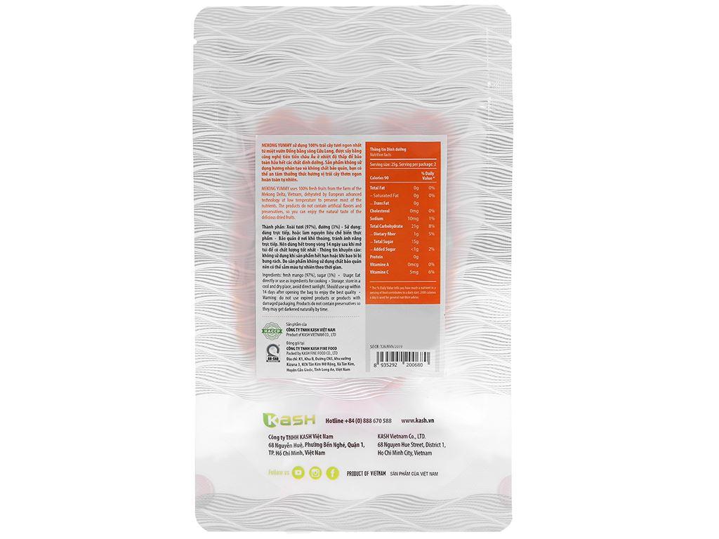 Xoài sấy dẻo Mekong Yummy gói 50g 2