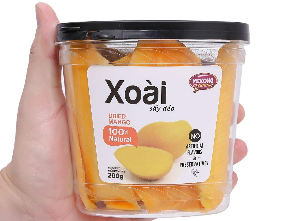 Xoài sấy dẻo Mekong Yummy hộp 200g 4