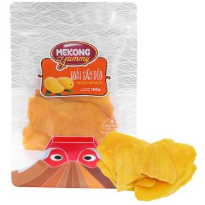 Xoài sấy dẻo Mekong Yummy gói 100g