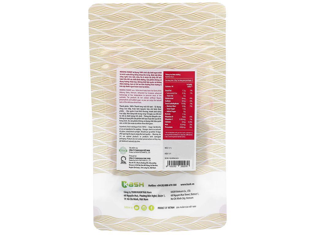 Thanh long sấy dẻo Mekong Yummy gói 50g 2