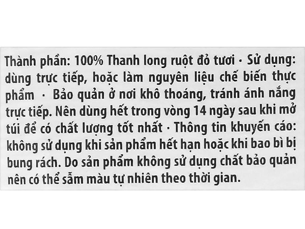 Thanh long sấy dẻo Mekong Yummy gói 50g 3