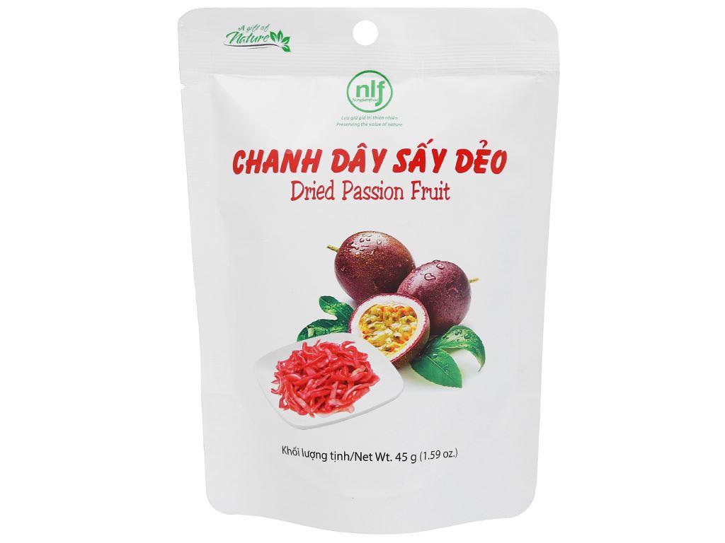 Chanh dây sấy dẻo Nong Lam Food túi 45g 1