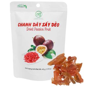 Chanh dây sấy dẻo Nong Lam Food túi 45g