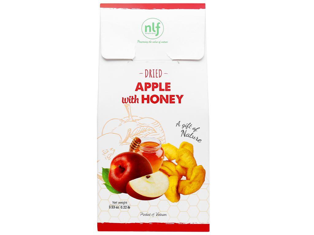 Táo mật ong sấy dẻo Nong Lam Food hộp 100g 2