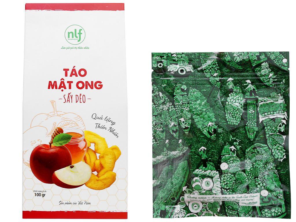 Táo mật ong sấy dẻo Nong Lam Food hộp 100g 5