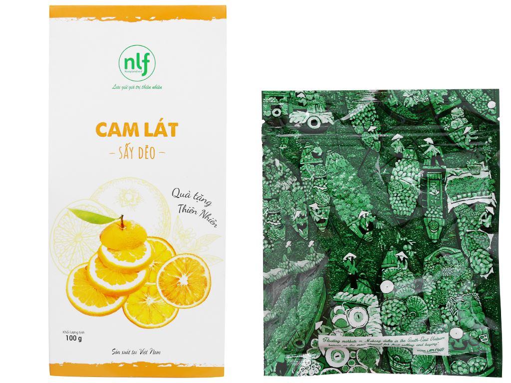 Cam lát sấy dẻo Nong Lam Food hộp 100g 5