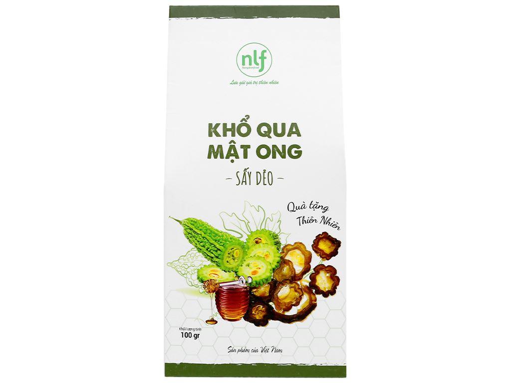 Khổ qua mật ong sấy dẻo Nong Lam Food hộp 100g 1