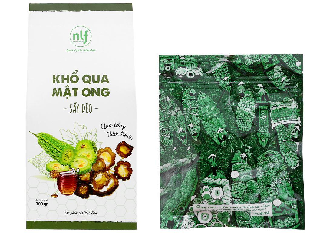 Khổ qua mật ong sấy dẻo Nong Lam Food hộp 100g 5