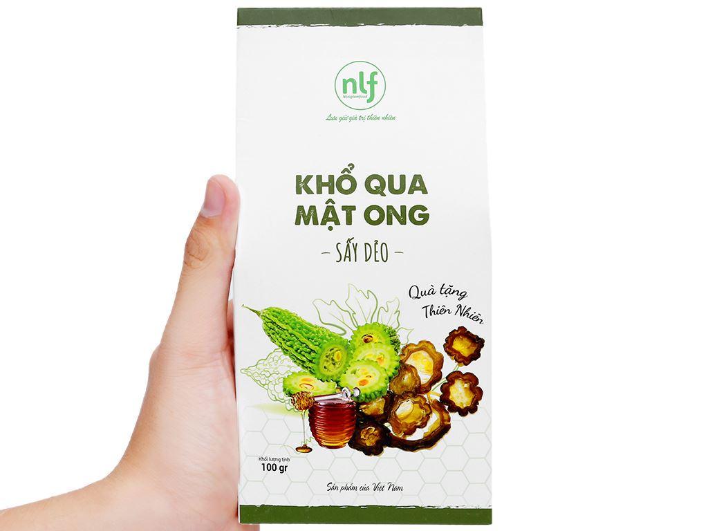 Khổ qua mật ong sấy dẻo Nong Lam Food hộp 100g 7