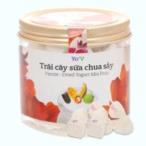 Sữa chua sấy thập cẩm trái cây Yo'V hũ 60g