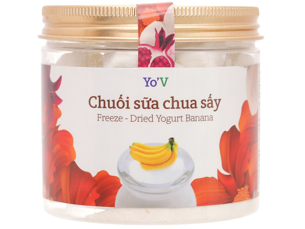 Sữa chua sấy vị chuối Yo'V hũ 60g 1