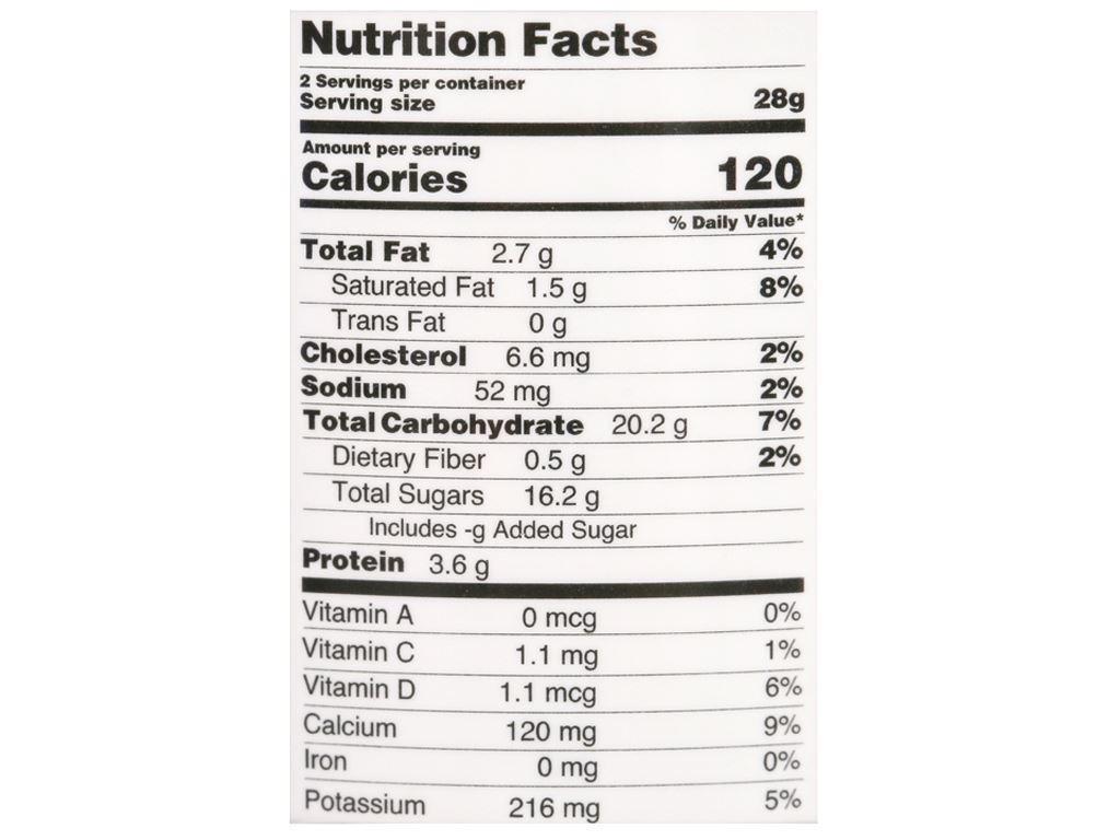 Sữa chua sấy vị chuối Yo'V hũ 60g 4