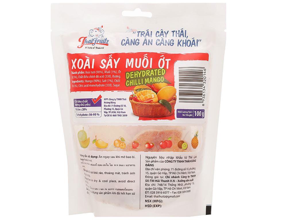 Xoài sấy muối ớt Thaifruitz gói 100g 2