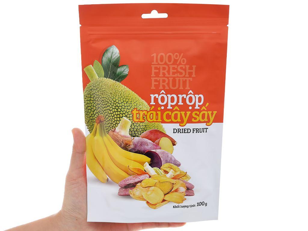 Trái cây sấy Rộp Rộp gói 100g 5