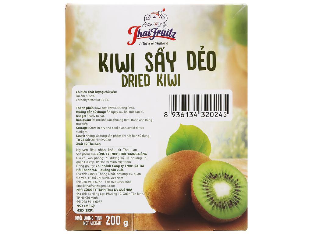 Kiwi sấy dẻo Thaifruitz hộp 200g 2