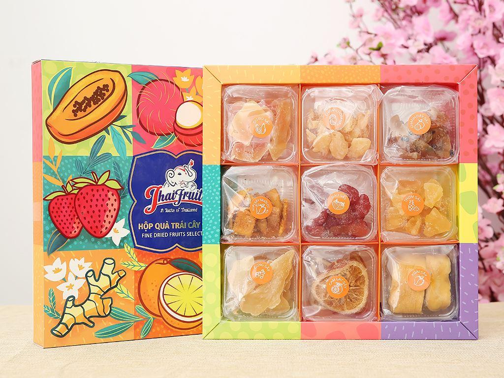 Hộp quà trái cây sấy Thaifruitz 600g 10