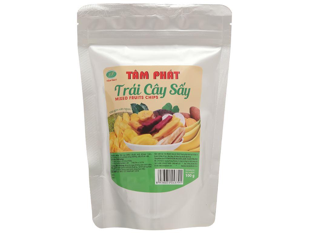 Trái cây sấy thập cẩm Titsi gói 100g 1