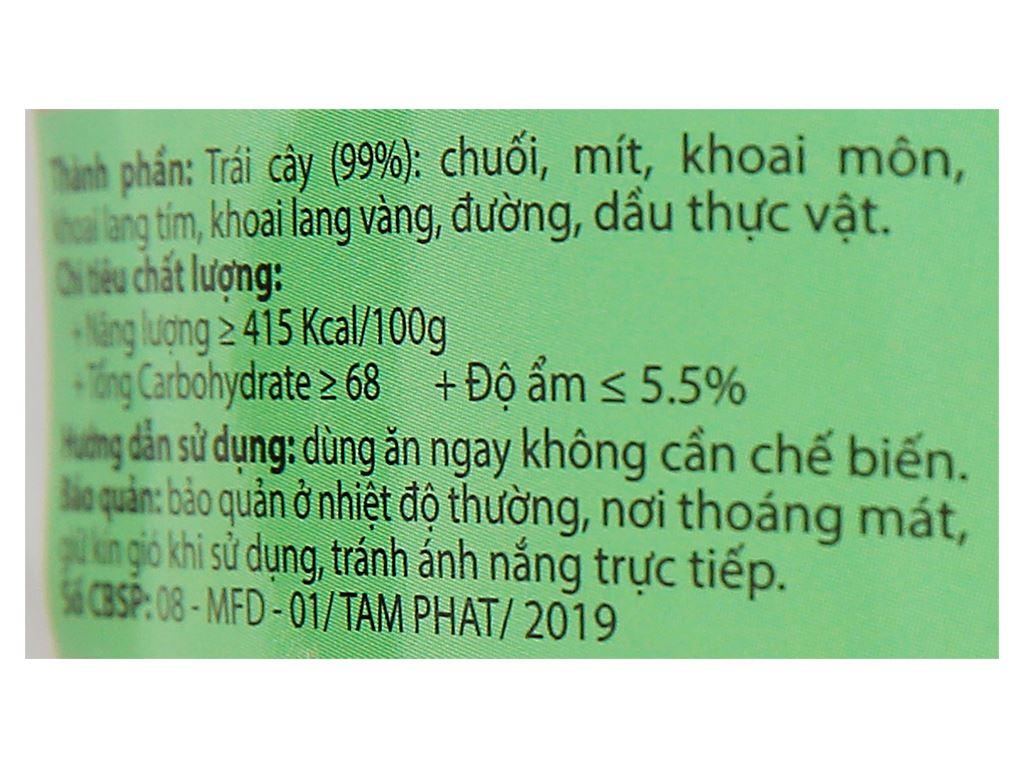 Trái cây sấy thập cẩm Titsi gói 100g 2