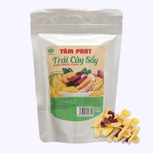 Trái cây sấy thập cẩm Titsi gói 100g