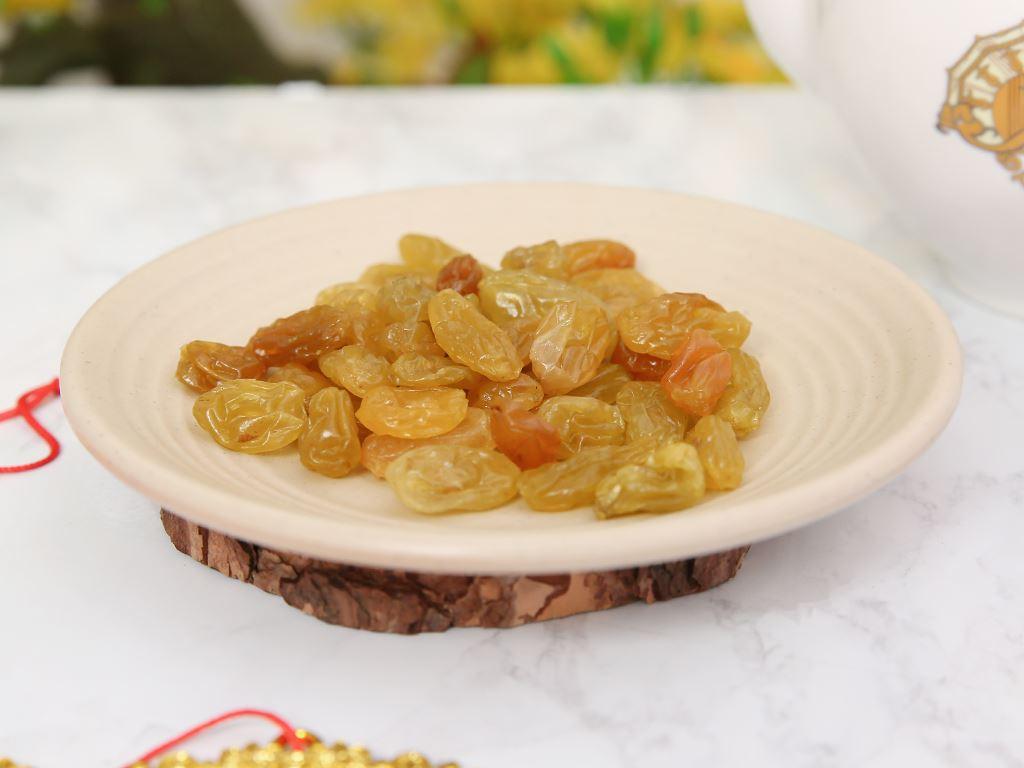 Nho khô vàng Jumbo Golden hộp 250g 5
