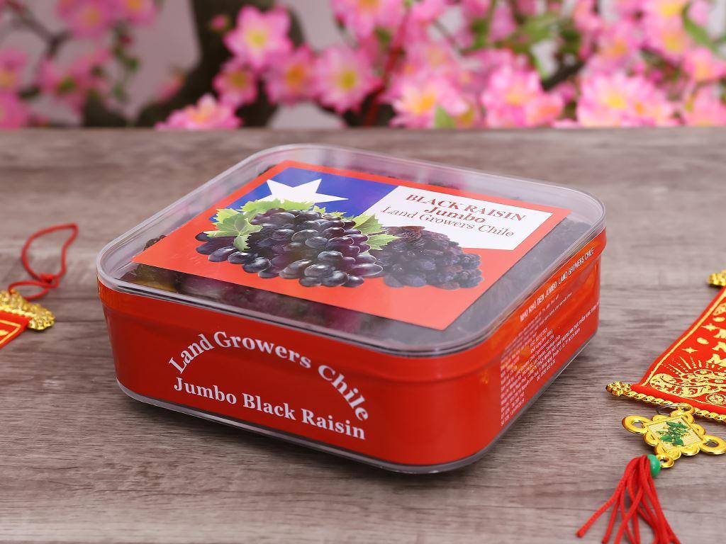 Nho đen khô Jumbo Black hộp 400g 3