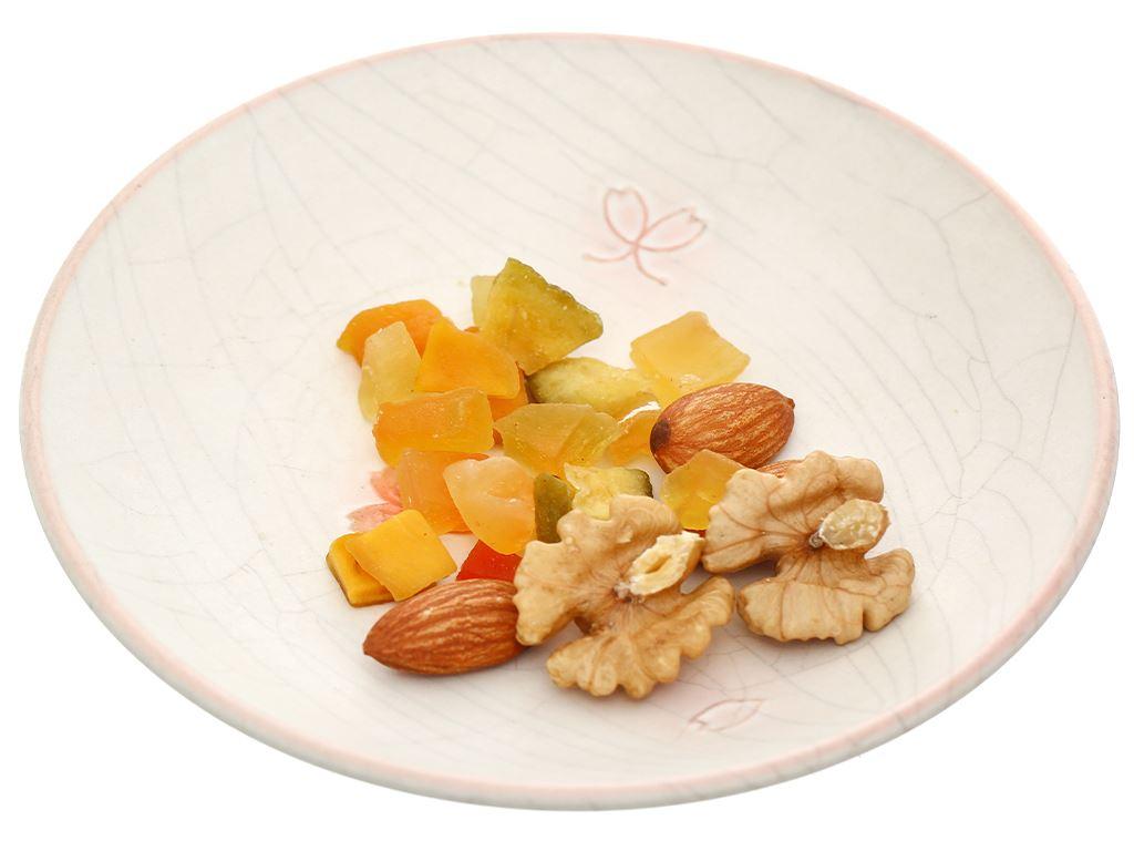 Hạt và trái cây sấy Ba Bông Sen gói 20g 5