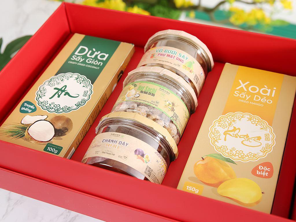 Hộp quà Tết An Khang Nong Lam Food 2kg 4