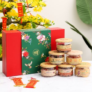 Hộp quà Tết Thịnh Vượng Nong Lam Food 2kg