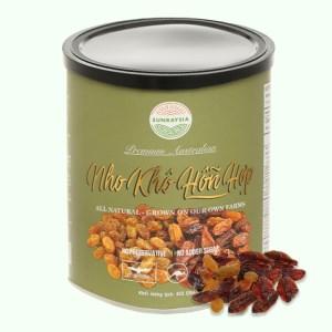 Nho khô Sunraysia Mixed Raisins lon 425g
