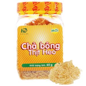Chà bông heo Hương Việt hũ 60g