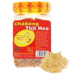 Chà bông heo đặc biệt Hương Việt hũ 65g