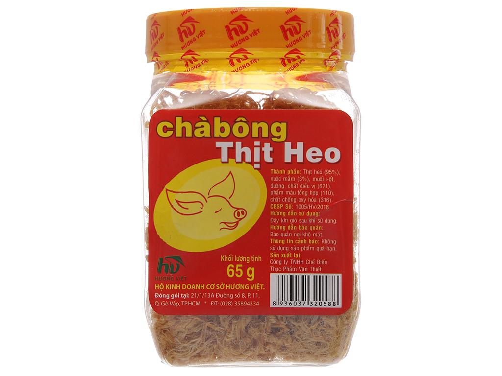 Chà bông heo đặc biệt Hương Việt hũ 65g 2