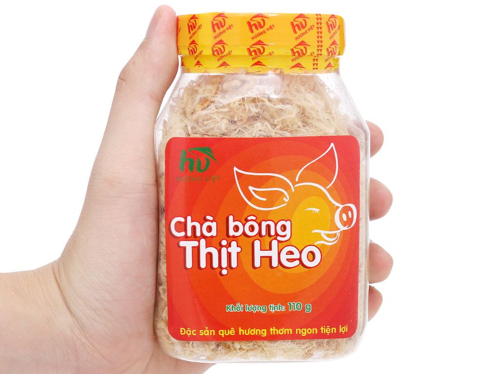 Chà bông heo đặc biệt Hương Việt hũ 110g 9