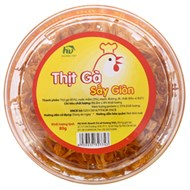 Thịt gà sấy giòn Hương Việt 80g