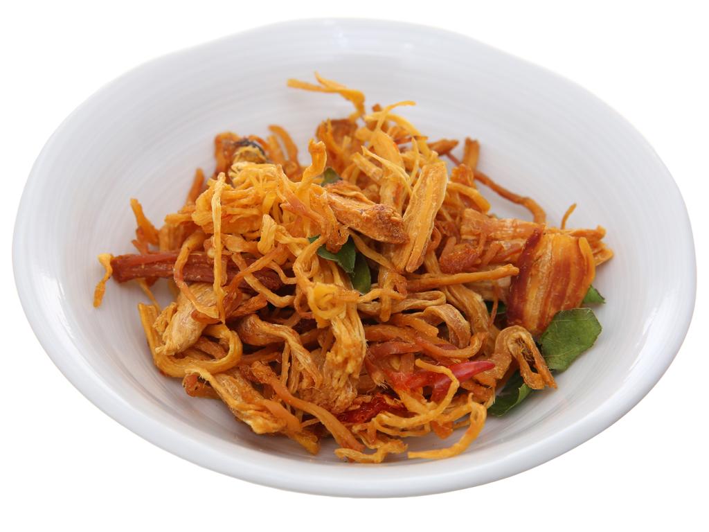 Thịt gà sấy lá chanh Hương Việt hộp 180g 4
