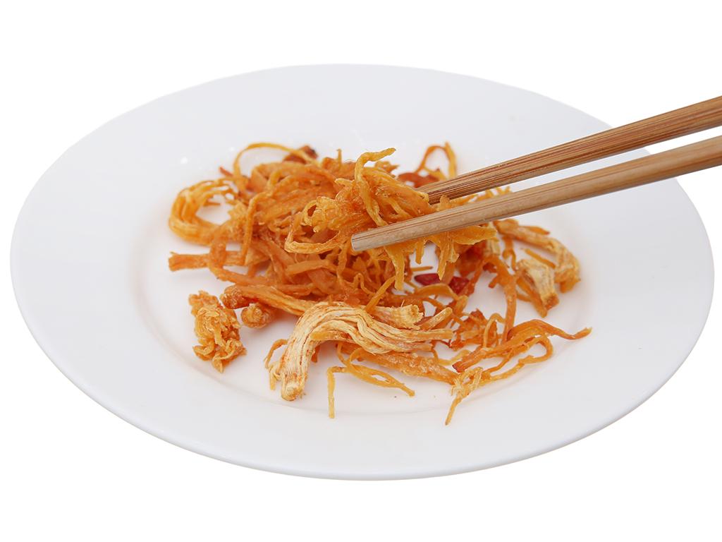 Thịt gà sấy giòn Hương Việt hộp 65g 4