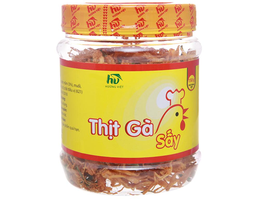 Thịt gà sấy giòn Hương Việt hộp 150g 1
