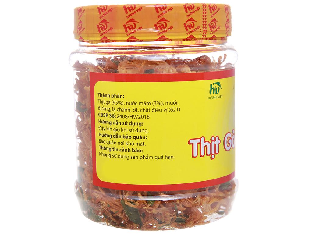 Thịt gà sấy giòn Hương Việt hộp 150g 2